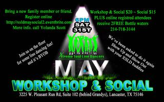 MAY XSLD Line Dance WORKSHOP & SOCIAL