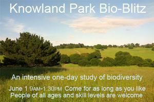 Knowland Park Bioblitz