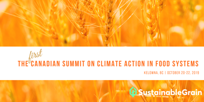 The First Canadian Summit on Climate Action in Food Sys...
