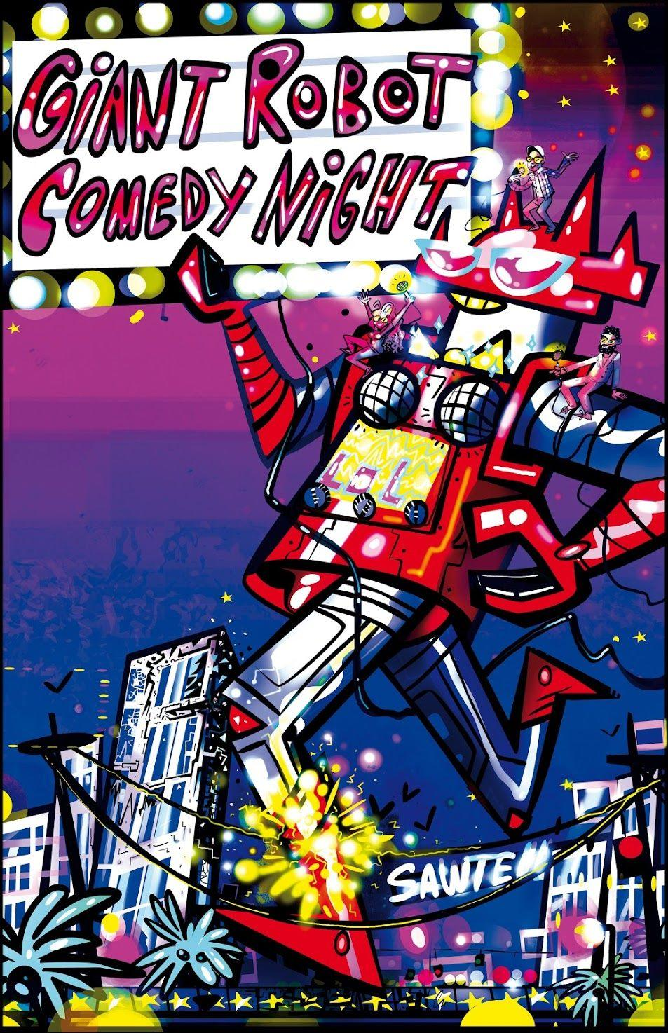 Giant Robot Comedy Night