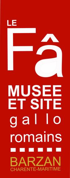 Musée et Site Gallo Romain du Fâ de Barzan logo