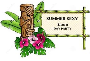 Summer Sexy Luau Day Party