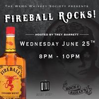 Fireball Rocks! Whiskey Tasting