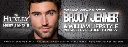 Brody Jenner Hosts at The Huxley - Friday, June 13th