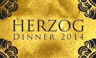 Herzog Dinner 2014