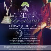 Hanging Ties and Chic Dresses 10 Year Anniversary Gala...