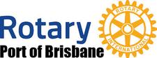Port of Brisbane Rotary logo