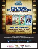 Free Movies on The Boardwalk at the Redondo Beach Pier