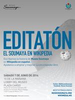 Editatón en el Museo Soumaya