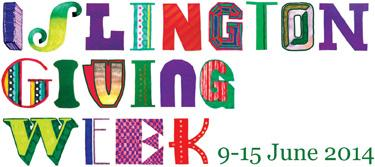 Islington Giving Week - Time to Give!