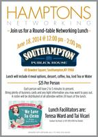 Hamptons Networking Round Table Lunch