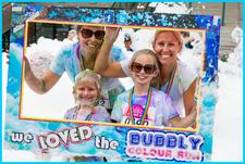 Bubbly Colour Run logo