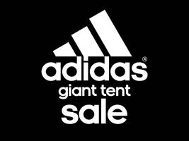 adidas Giant Tent Sale in San Francisco, CA!