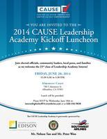 2014 CAUSE Leadership Academy Kickoff Luncheon