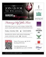 DIFFA/Dallas Burgers & Burgundy 2012