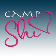 CampShe - Its all about she  logo