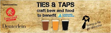 2nd Annual Ties & Taps