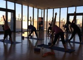 Free Yoga Class at The New Manny Cantor Center