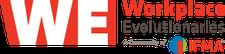 Workplace Evolutionaries (WE) logo