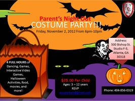 Parent's Night Out - Costume Party!!