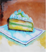 "JUNE: Canvas Painting Class - ""Time for Dessert"""