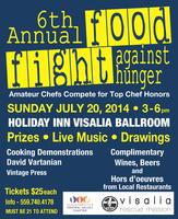 6th Annual Food Fight Against Hunger