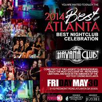 2014 Best of Atlanta Award: Best Nightclub Celebration