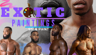 DOWNTOWN LA Saturday Exotic Paintings Male Models Sip & Paint BYOB!!