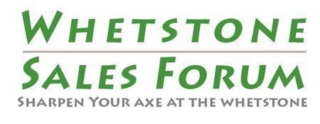 Whetstone Sales Forum Nov 6, 2012