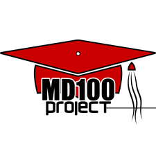 The MD100 Project logo