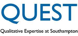 QUEST Seminar - Taking risks in qualitative methods