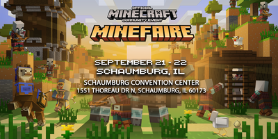 Minefaire: Official MINECRAFT Community Event (Chicago, IL