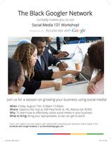 Social Media 101 Workshop powered by Accelerate with...