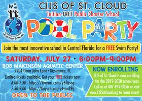 Miami Dade Public Schools Calendar 2014-2020 CIJS FREE Pool Party 7:30 P.M. 9:00 P.M. Tickets, Sat, Jul 27