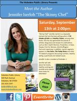 "Meet the Author: Jennifer Iserloh ""The Skinny Chef"""