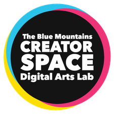 The Blue Mountains Creator Space Digital Arts Lab logo