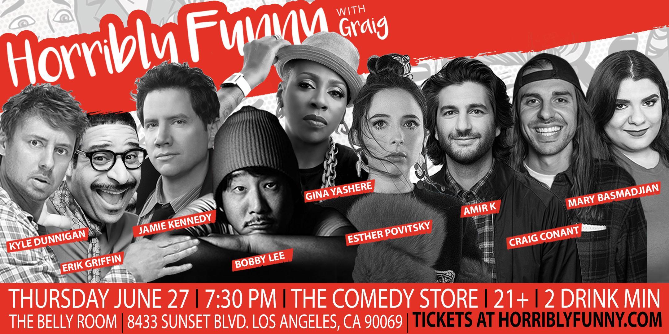 Horribly Funny - Jamie Kennedy, Bobby Lee, Erik Griffin, Gina Yashere