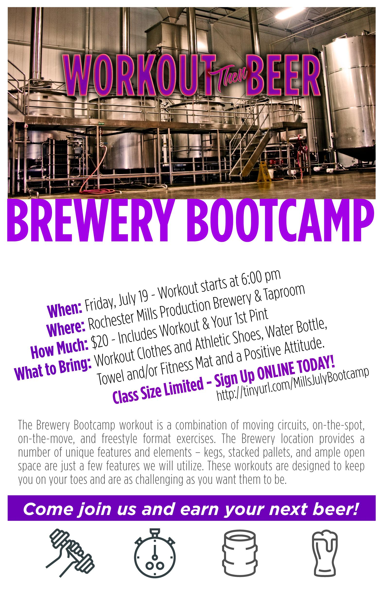 Brewery Bootcamp – July 19, 2019