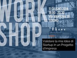 Dall'Idea di Startup all'Impresa: il processo di...
