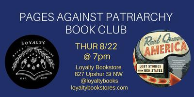 Book Club: Pages Against Patriarchy Reads Real Queer...