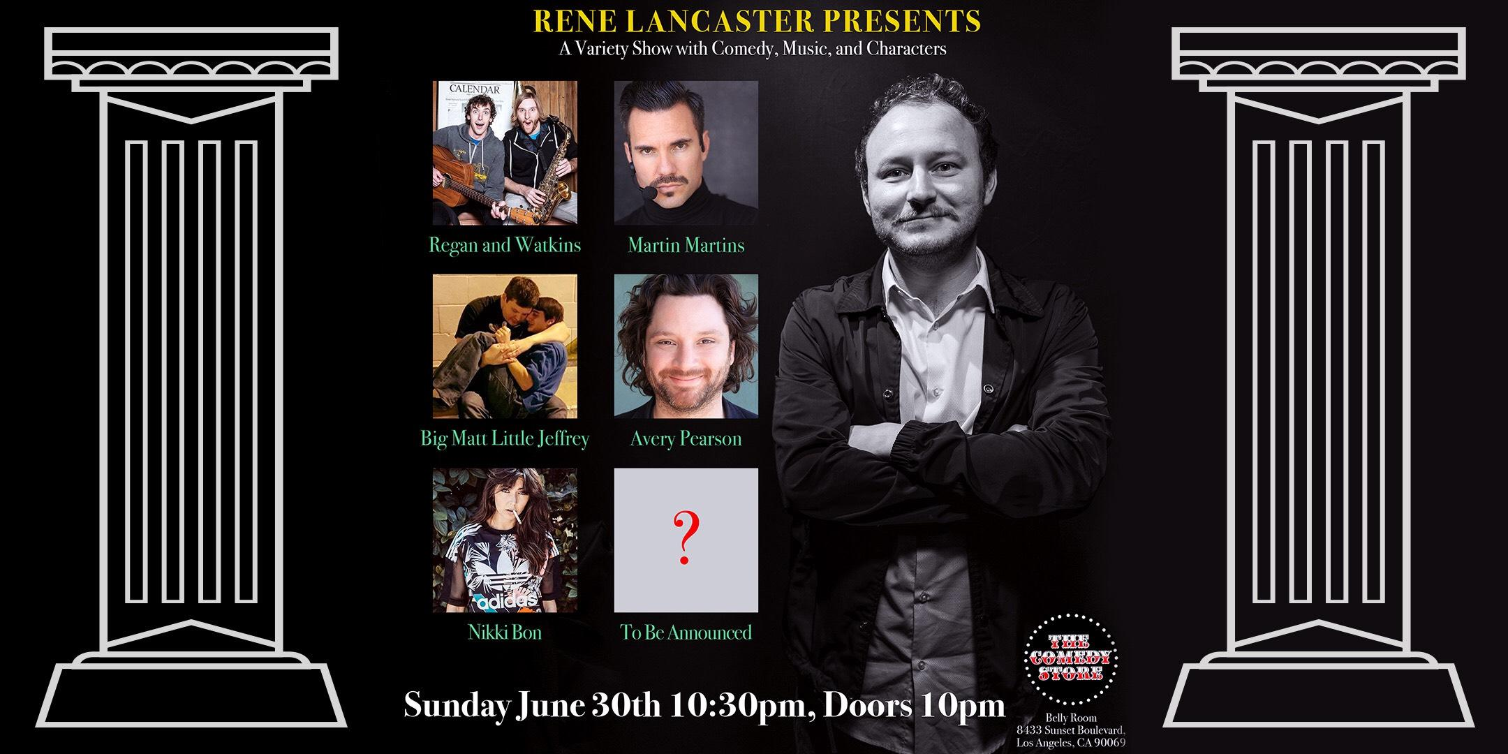 Rene Lancaster Presents Regan & Watkins, Martin Martins, +more!