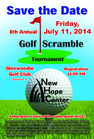 New Hope Center's 8th Annual Golf Scramble Tournament