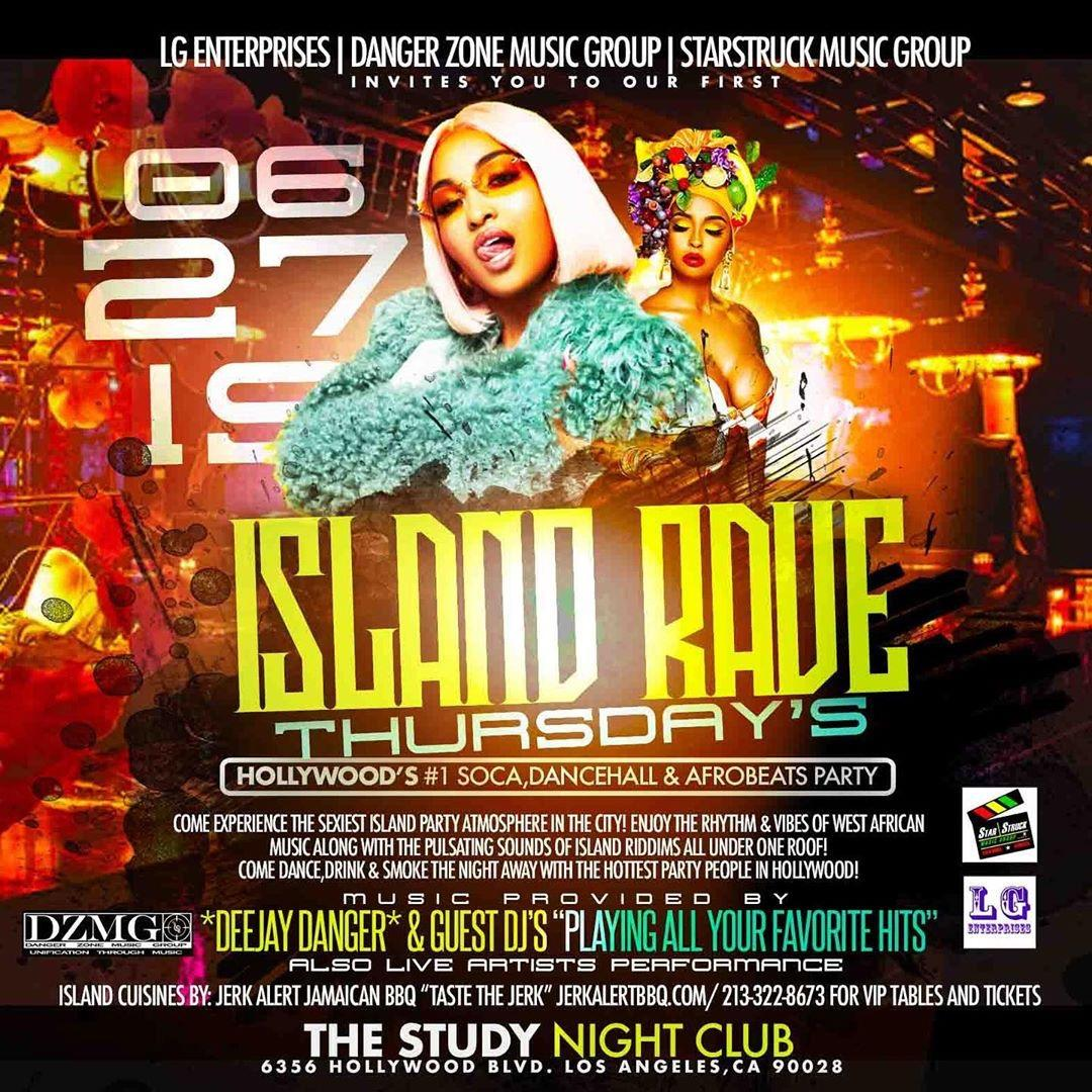 Island Rave Thursday's