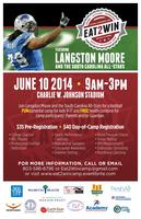Langston Moore presents the annual Eat2Win football...