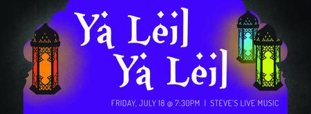 Ya Leil Ya Leil - Live Music Belly Dance Hafla