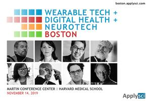 Conference In Boston Wednesday November >> Wearable Tech Digital Health Neurotech Boston