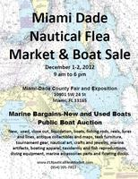 Miami Dade County Nautical Flea Market and Boat Sale