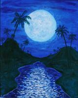 Pa'ina Paint Club - Full Moon Lagoon