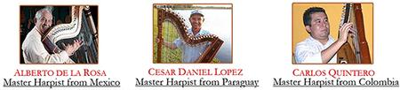 Harp Traditions of Latin America Concert of the Masters...