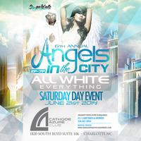 6TH ANNUAL ANGELS IN THE CITY ALL WHITE EVERYTHING DAY...